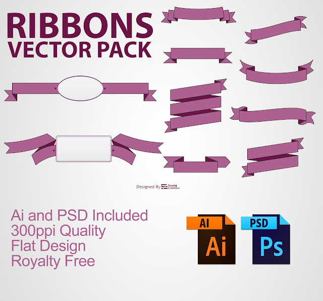 Ribbon Vectors