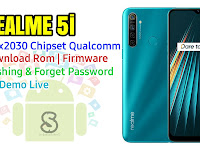 Download Rom Official / Flashing Realme 5i Rmx2030 Qualcomm Lupa Password, Pola, Fix Demo Live