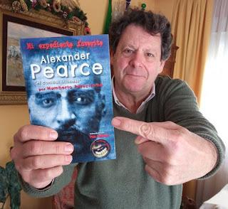 Entrevista al autor y editor Humberto Pérez Tomé. Alexander Pearce, el canibal irlandés. Revista de Radio Esperantia