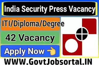 Indian Security Press Recruitment 2020
