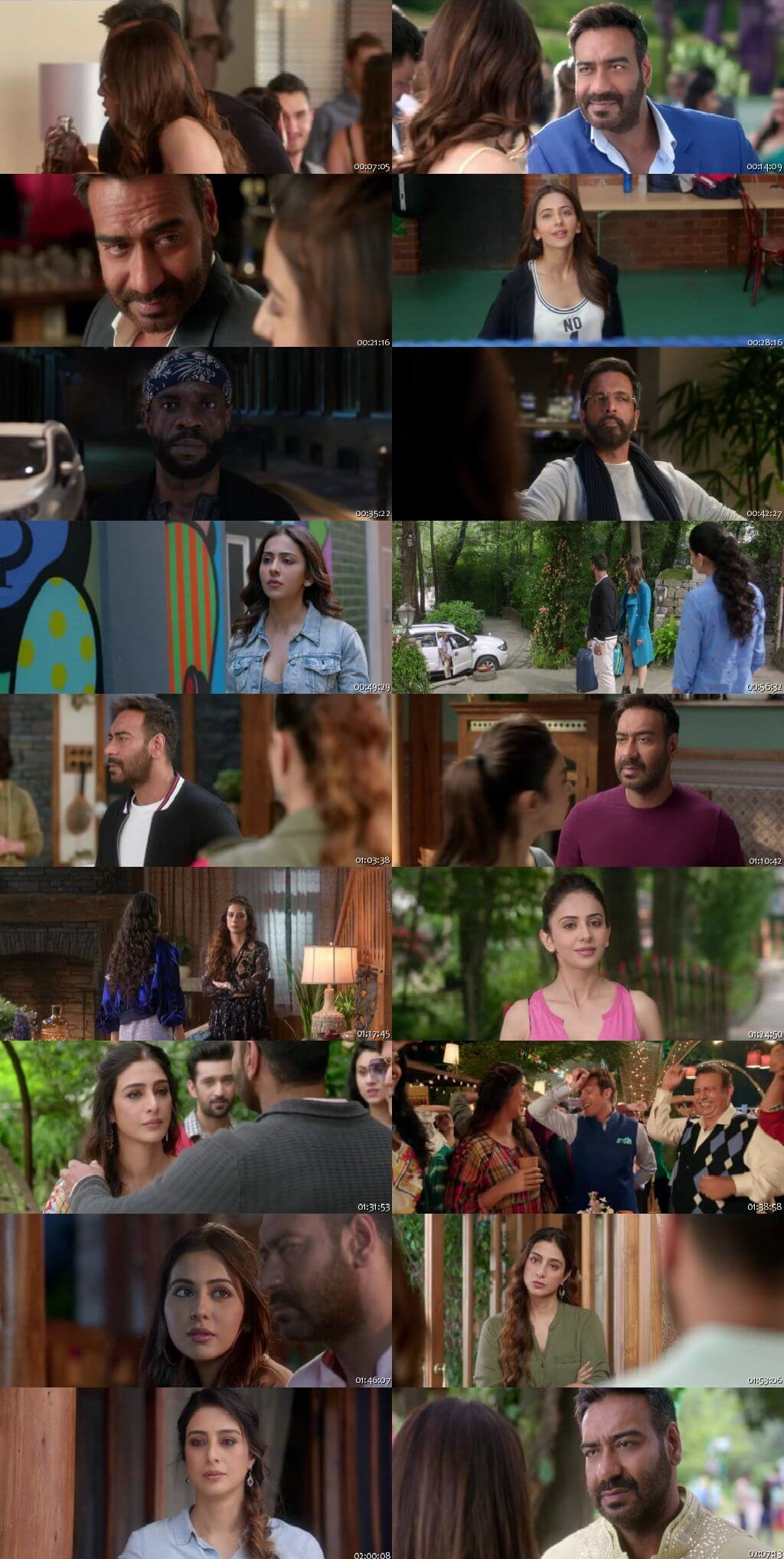 Screen Shot Of De De Pyaar De 2019 Full Movie Free Download HD 720P Watch Online