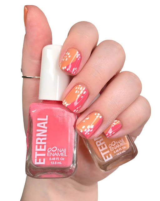Eternal Cosmetics Nail Art - 25 Sweetpeas