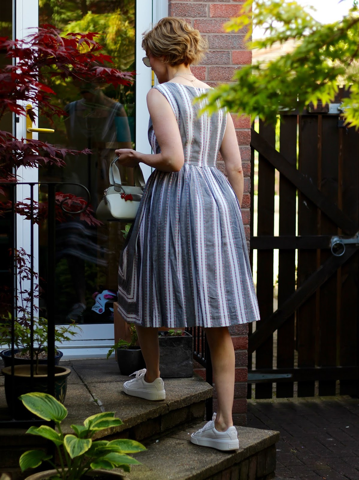 Vintage 1950s Summer Dress Outfit | Fake Fabulous