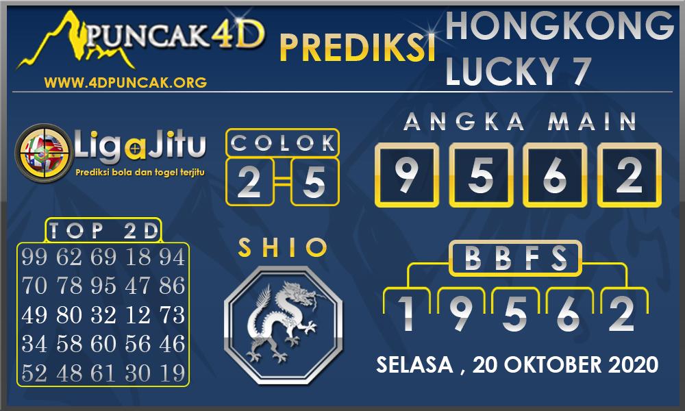 PREDIKSI TOGEL HONGKONG LUCKY 7 PUNCAK4D 20 OKTOBER 2020