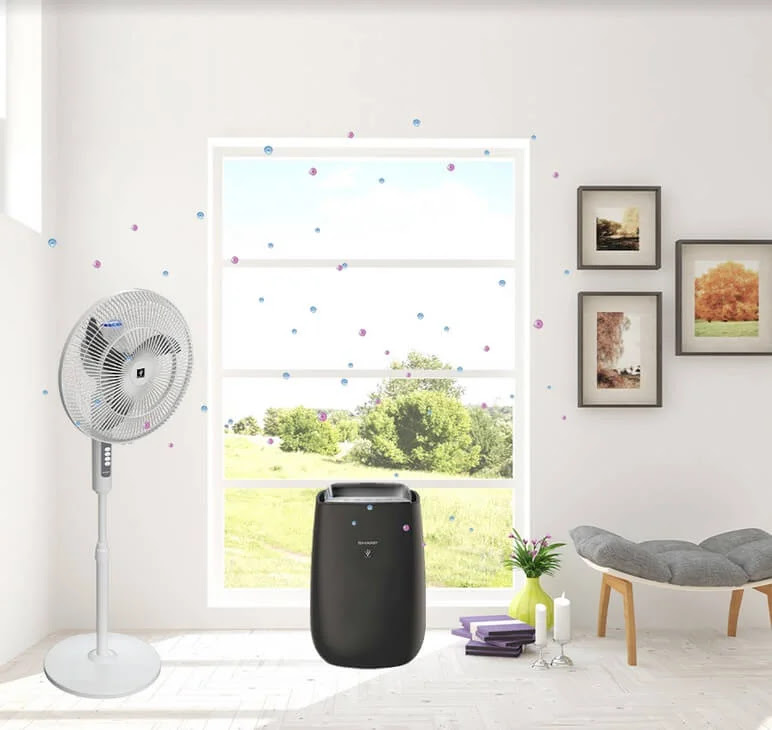 Achieve Healthier Indoor Air with Sharp's Plasmacluster Ion and Unique Airflow Technologies