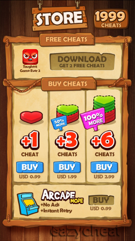 Hardest Game Ever 2 Cheats Unlimited Money Coins Gems