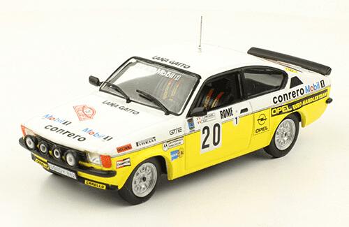 collezione rally monte carlo Opel Kadett GT/E 1978 Federico Ormezzano - Rudy