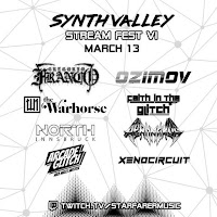 Synth Valley Stream Fest (13 maart 2021)