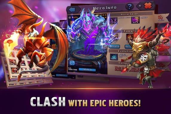 clash of lords mod apk