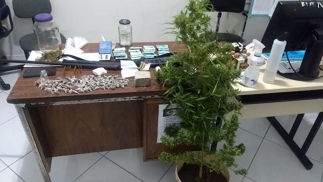 Operação Conjunta entre as Policias Civil e Militar cumpre mandados de busca e apreensão, no alto sertão da PB