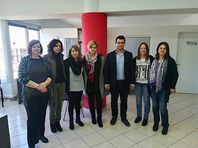 Επίσκεψη του Μάριου Κάτση στο Κέντρο κοινότητας και την Πρόνοια του Δήμου Ηγουμενίτσας