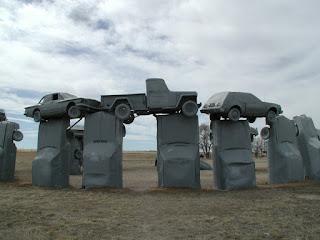 Carhenge - cars