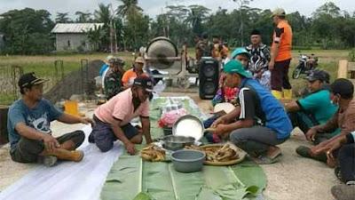 Sambut TMMD, Masyarakat Desa Wringinharjo Gelar Syukuran dan Doa Bersama