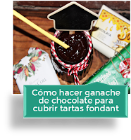 CÓMO HACER GANACHE DE CHOCOLATE PARA CUBRIR TARTAS FONDANT