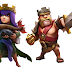 Barbarian King and Archer Queen   Clash of Clans Wallpaper