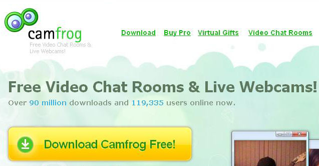 Perkembangan Camfrog Video Chat (2003-2017)