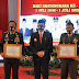 Pemberian Penghargaan Sinergitas TNI-Polri Warnai Peringatan Hari Bhayangkara ke-74 Polres Wonogiri