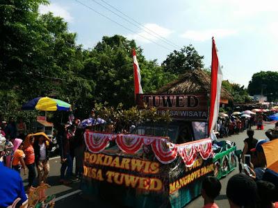 Parade HUT Kota Negara tanggal 28 Agustus 2016