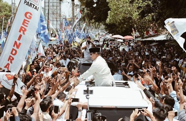 Pendukung Prabowo di Jambi Siap Patahkan Hasil Survei yang Memenangkan Jokowi