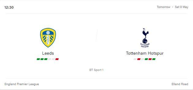 Leeds vs Tottenham Hotspur LiveStream, Preview and Prediction 2021