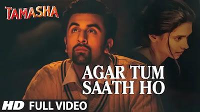Agar Tum Saath ho Lyrics in Hindi And English