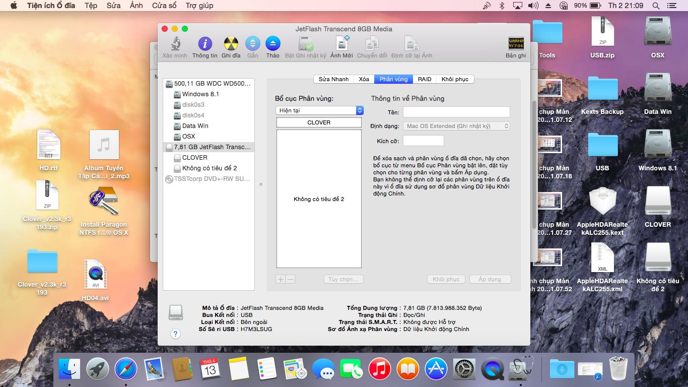HƯỚNG DẪN CÀI MAC OS X DUAL BOOT WINDOWS 8 1 DELL INSPIRON