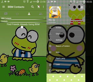 BBM Mod Kerroppi Lucu v2.12.0.9 Clone