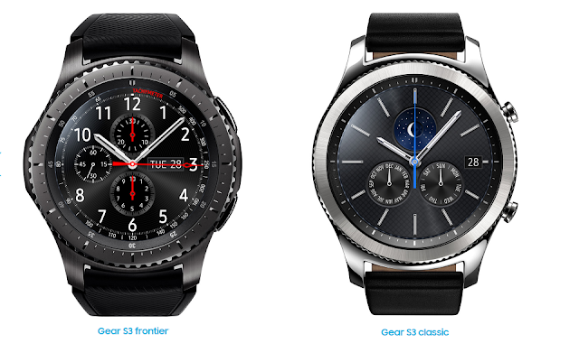 Samsung Unleashes the Gear S3 Classic and Gear S3 Frontier