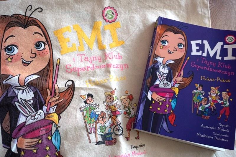 Emi i tajny klub superdziewczyn książka dla sześciolatki
