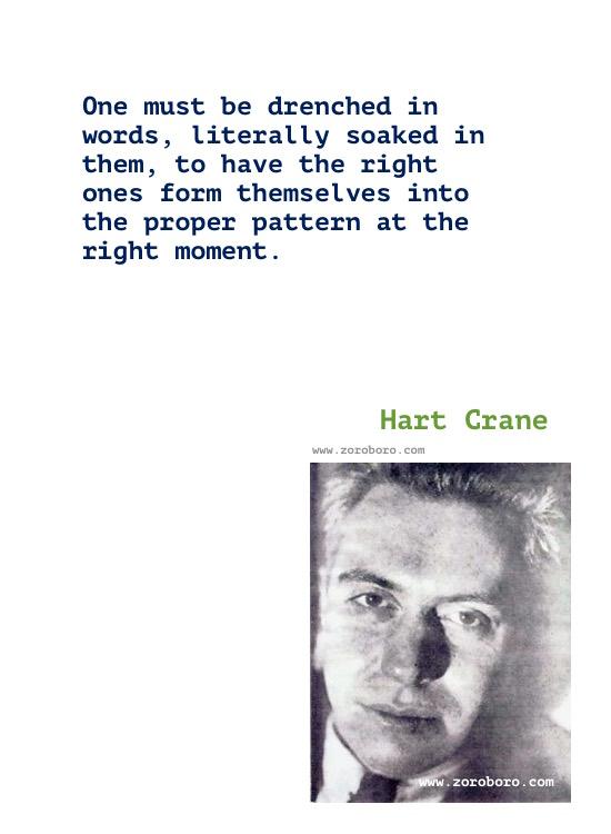 Hart Crane Quotes, Hart Crane Poems, Hart Crane Poet, Hart Crane Books Quotes, Hart Crane Writings