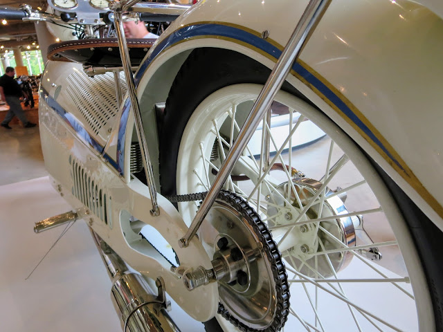 The Majestic Motorcycle Rear Wheel