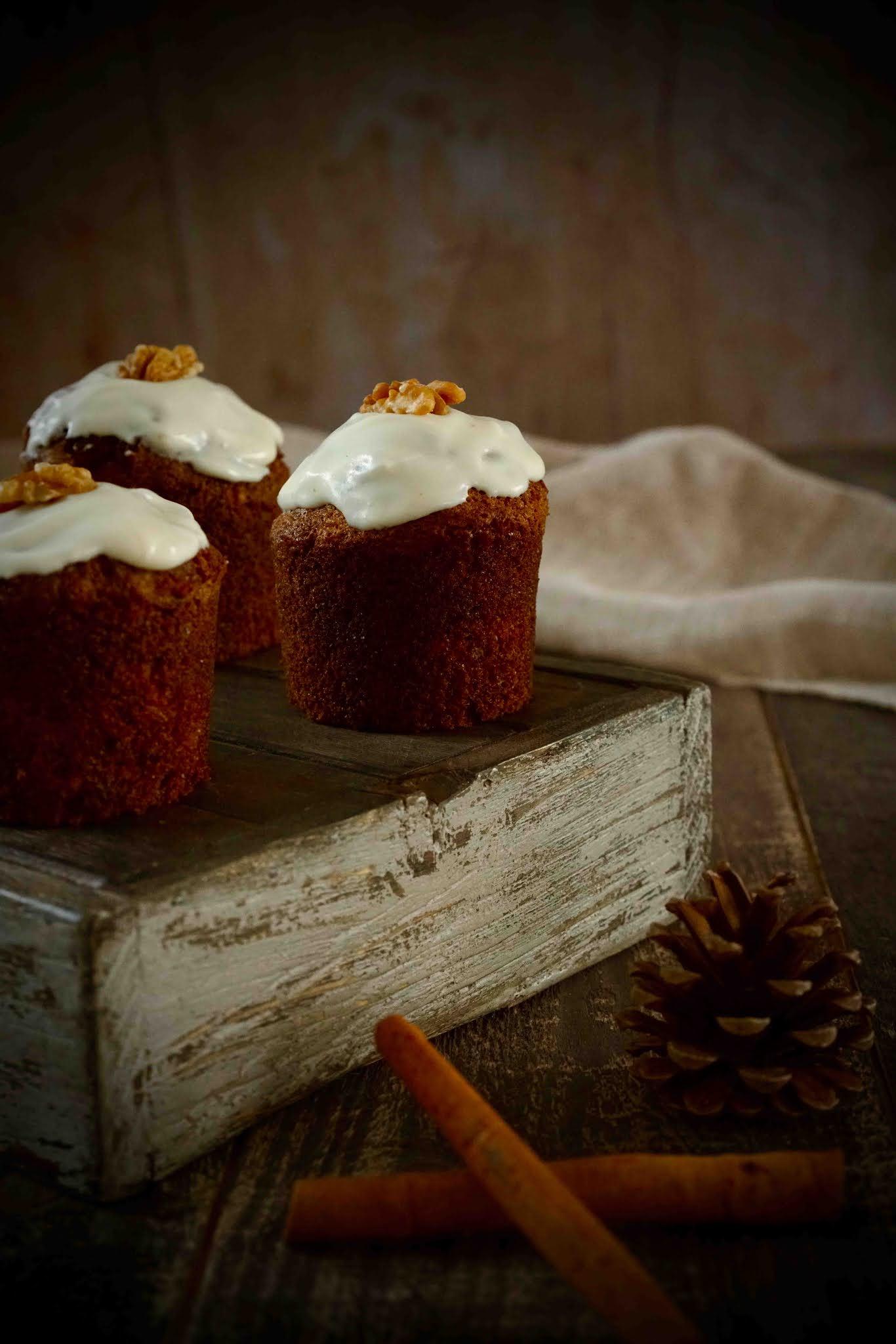 carrot cake bien moelleux