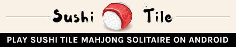 Sushi Tile Mahjong Solitaire