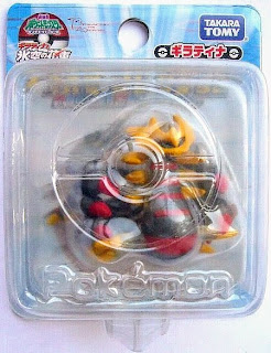Giratina figure origin form clear version Takara Tomy Monster Collection 20090 movie promo