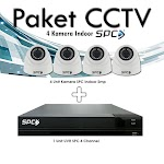 Paket CCTV 4 Channel 2MP Canyon + Instalasi
