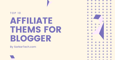 Affiliate Thems For Blogger