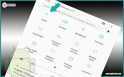 تطبيق يمكنك من ايقاف الواي فاي تلقائيا عند اغلاق الشاشة للحفاظ على البطارية للاندرويد