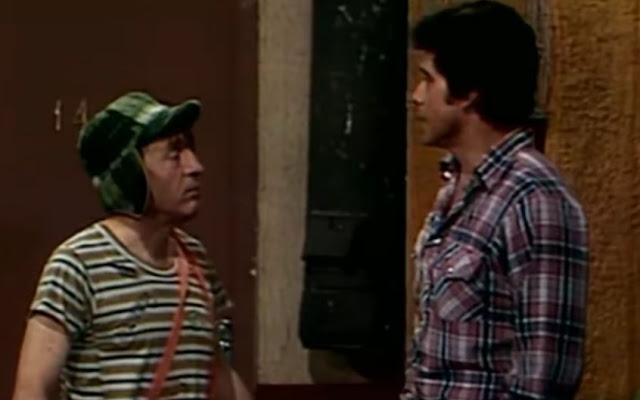 A sua aparição no seriado Chaves