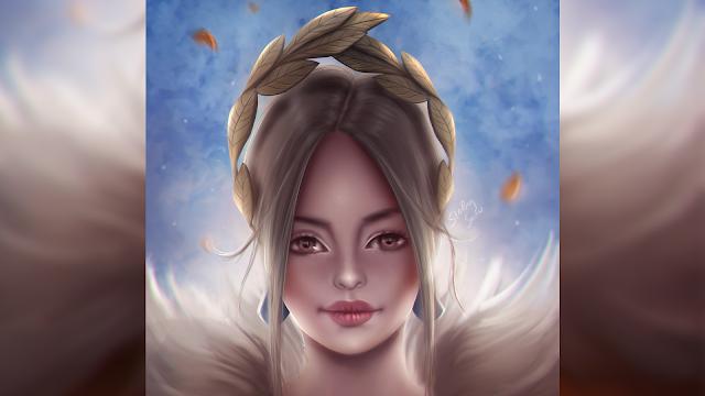 Goddess - Digital Painting Art