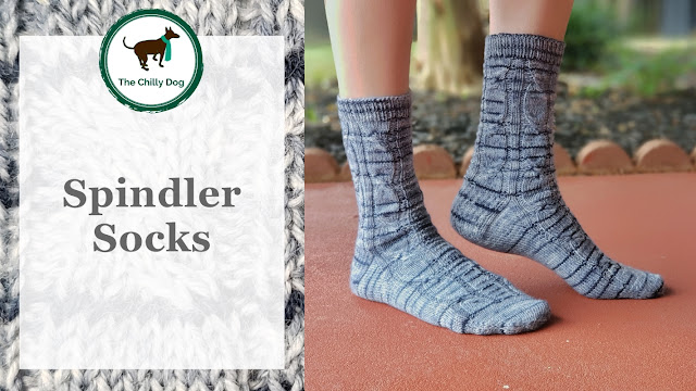 Spindler Socks Knitting Pattern by The Chilly Dog