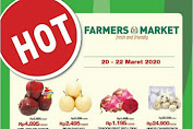 Promo Farmers Market Weekend 10 - 12 April 2020