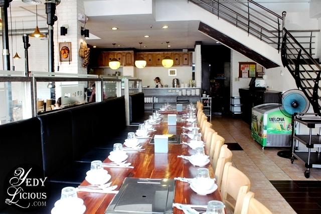 Interior of Lee Hak Korean Restaurant