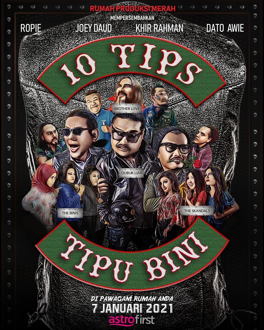 Filem 10 tips tipu bini filem pertama Awie dipawagam rumah anda dari Astro First. #AstroFirst #tips #10tipstipubini #filemkomedi #kumpulanwings #filemkomediMalaysia2021