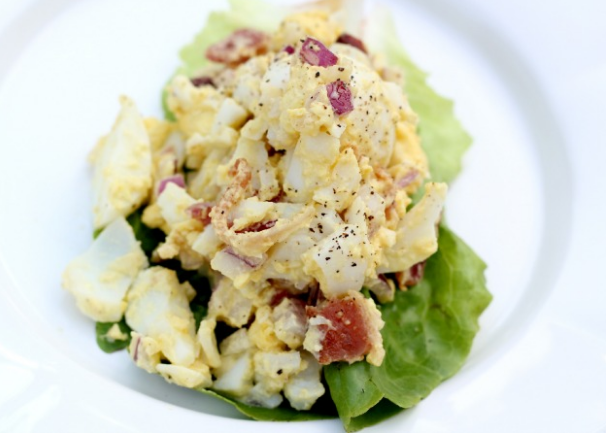PALEO EGG SALAD RECIPE #egg #paleo #keto #whole30 #healthydiet