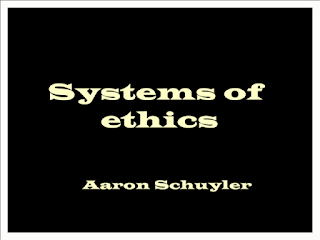 Systems of ethics