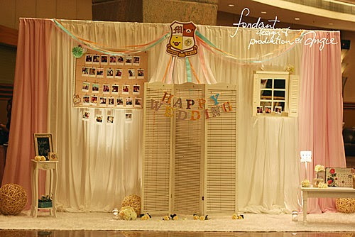 Wedding decoration - School theme @KITEC