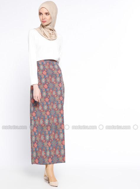 floral-hijab-skirt-2018-2019