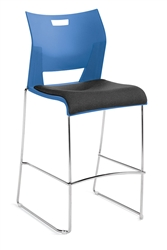 Global Total Office Duet Bar Stool