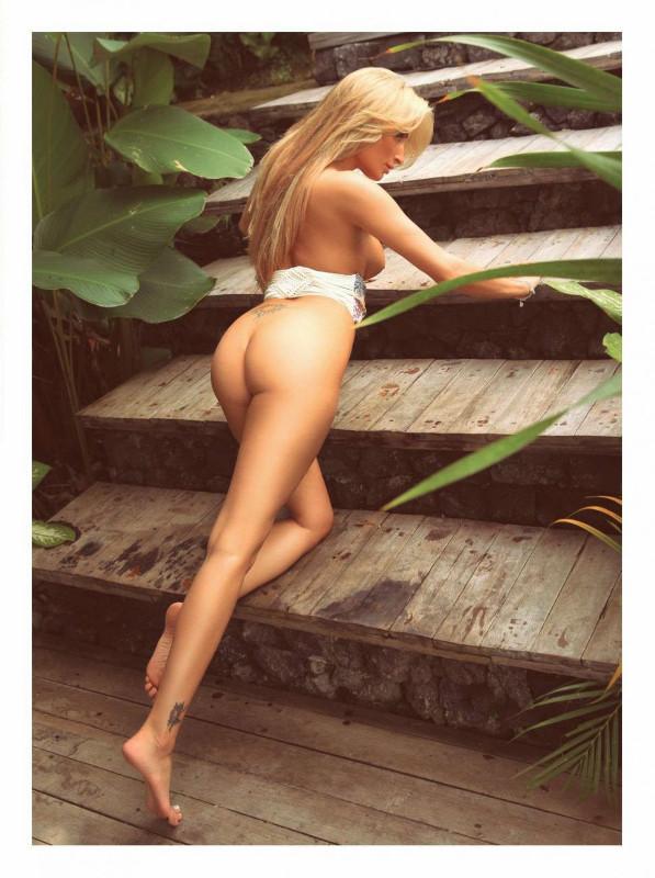 Fotos de Melissa Teixeira nua pelada na Playboy Venezuela naked photos