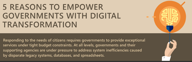 5 reasons to empower governments with digital transformation